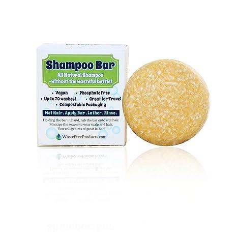 Waste Free Products Natural Organic Shampoo Bar
