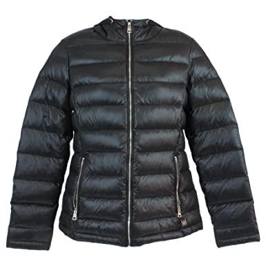 52d50ec182f4b Andrew Marc Ladies' Featherweight Packable Down Jacket (X-Small, Black)