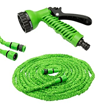 200FT 60M 3X EXPANDABLE FLEXIBLE GARDEN WATER MAGIC HOSE with