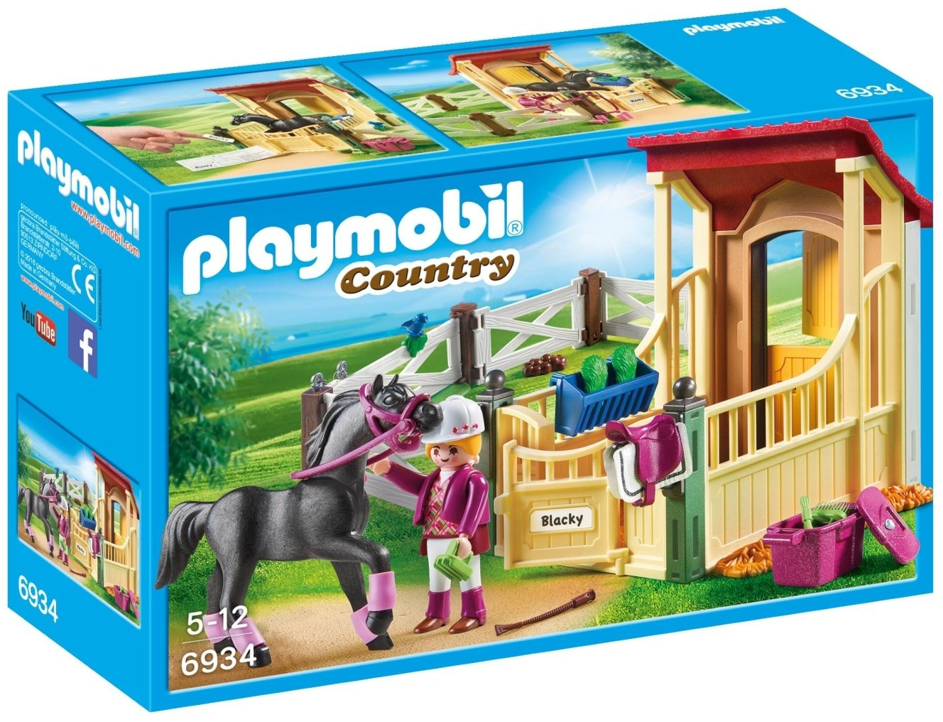 PLAYMOBIL Horse Stable Araber Building Set