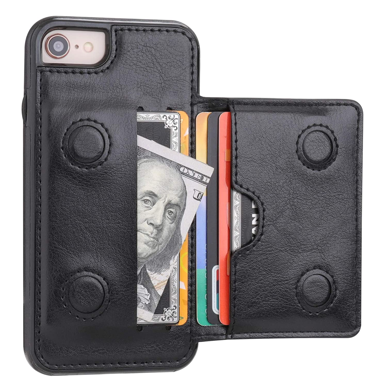 iphone 8 case credit card holder
