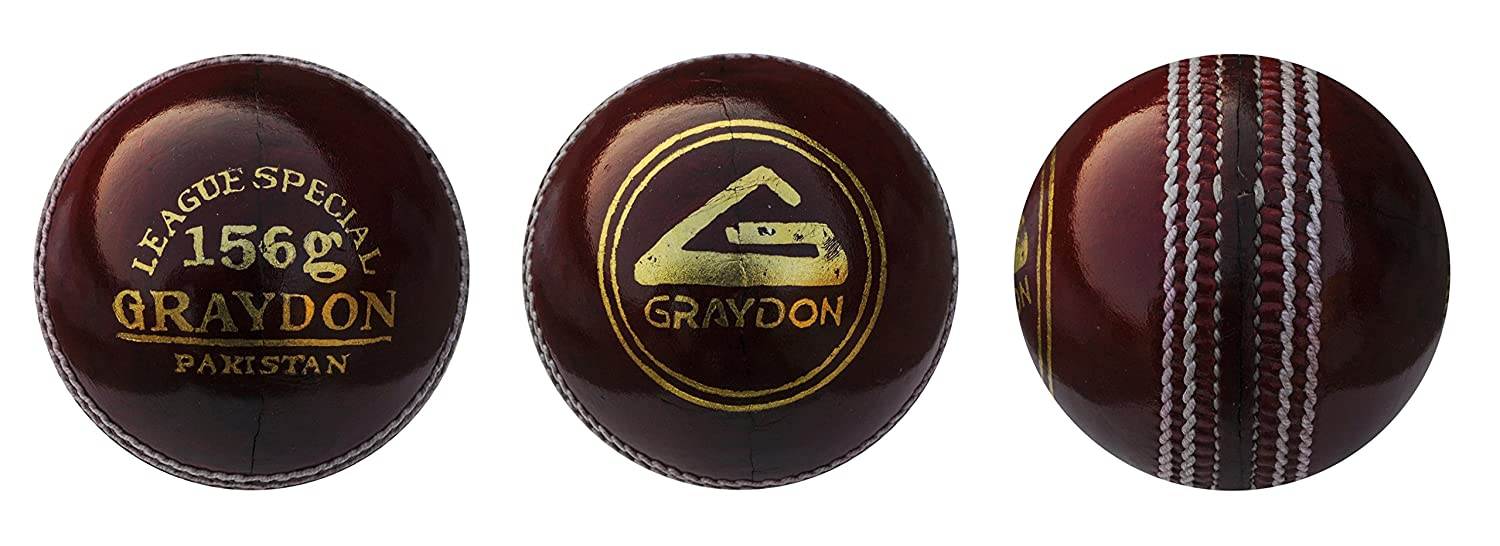 Graydon League spécial Balle de cricket Red Graydon Sports