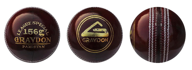 Graydon League Special Cricket Ball rot Graydon Sports