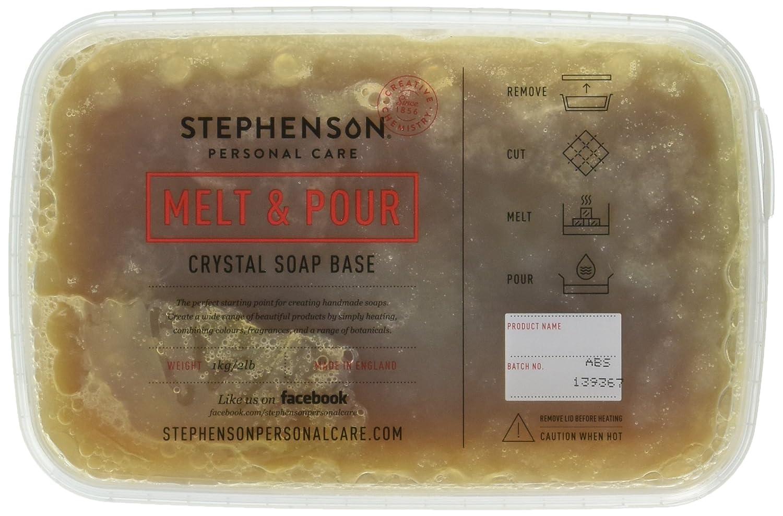 Stephenson STEP-AfricanBlack-2PK Soap Base, Dark Brwon Color