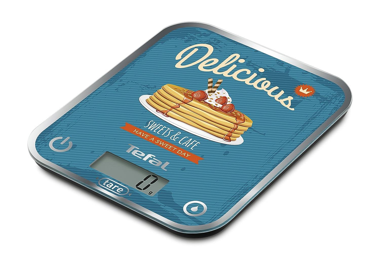 Tefal Optiss Delicious Pancakes Báscula de Cocina, 5 kg, Vidrio, Multicolor: Amazon.es: Hogar