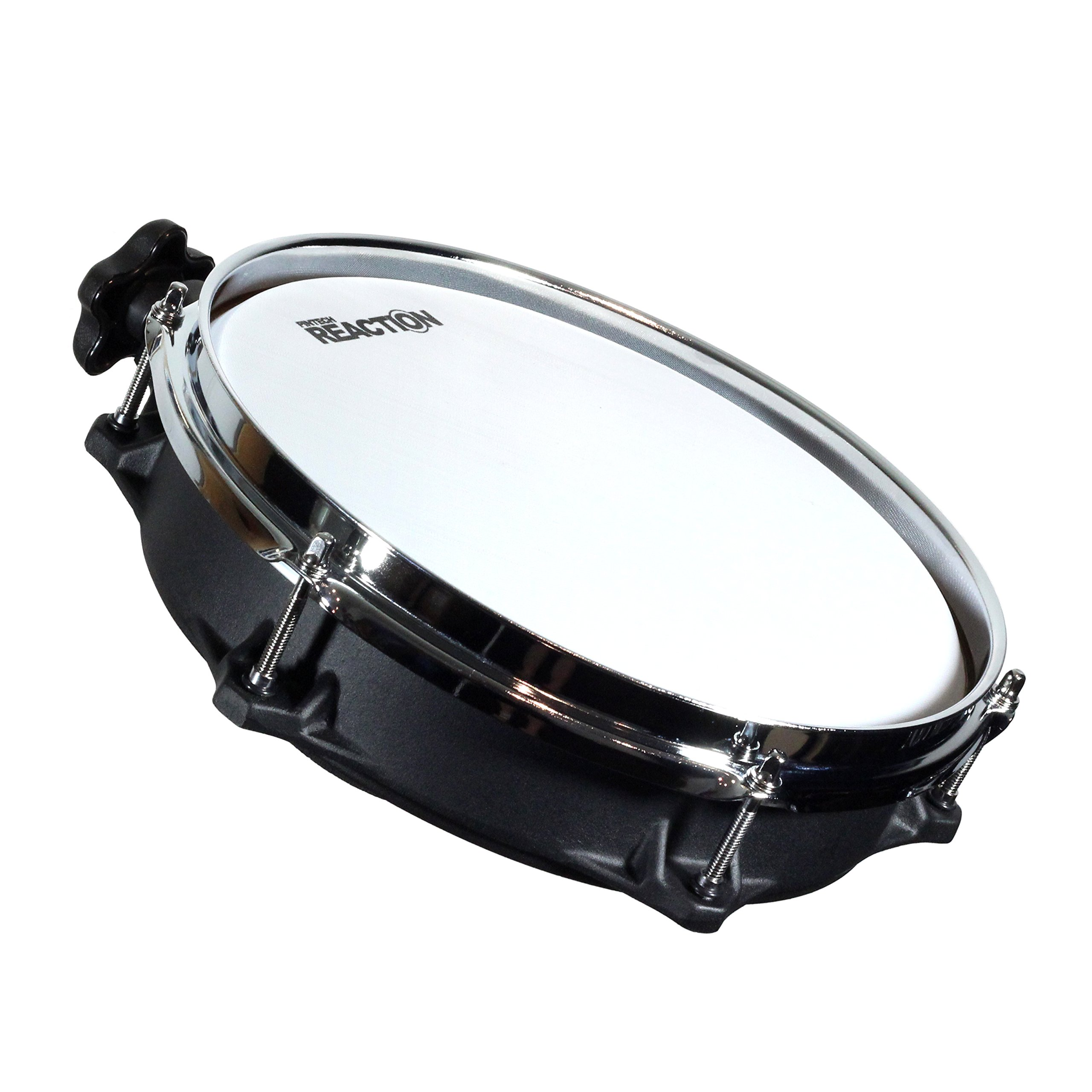 Pintech Percussion CC102B ConcertCast Mesh Drum Pad 10'' Dual Zone by Pintech Percussion