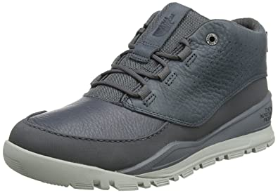The North Face Edgewood, Bottines Chukka Homme, Gris (Zinc Grey/Highrise Grey), 45.5 EU