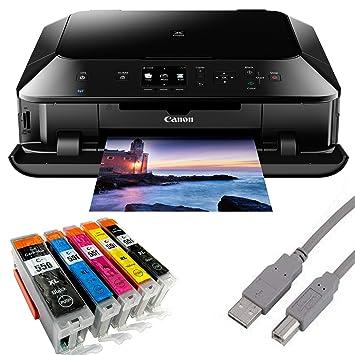 Canon Pixma MG5450 - Impresora fotográfica USB (con 5 cartuchos ...