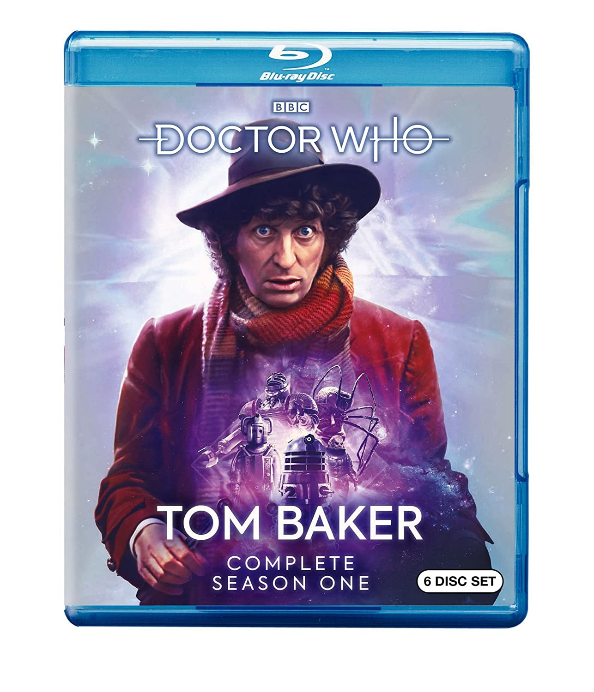 Doctor Who: Tom Baker Complete First Season 6 Blu-Ray Edizione: Stati Uniti Italia Blu-ray: Amazon.es: Cine y Series TV