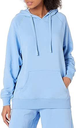 The Drop Women's Renee Washed Fleece Slouchy Hoodie