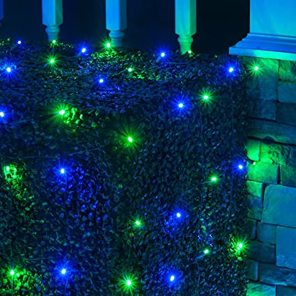 Amazon.com: LED Net Lights Outdoor LED Holiday Lights Net, Outdoor ...