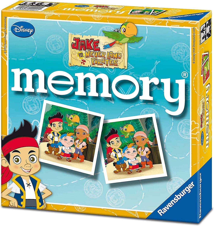 Jake y los Piratas - Memory (Ravensburger 22259 9): Amazon.es: Juguetes y juegos