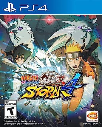 Naruto Shippuden: Ultimate Ninja Storm 4 - PlayStation 4