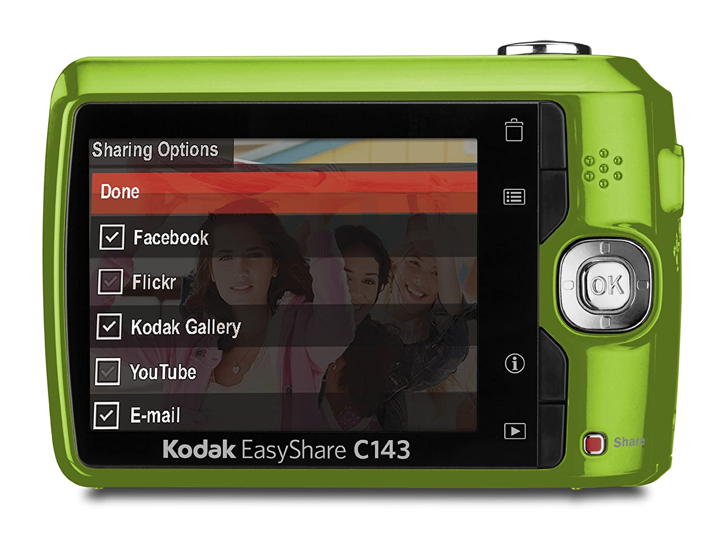 amazon com kodak easyshare c143 digital camera green point and rh amazon com kodak easyshare c143 user manual kodak easyshare c143 user manual