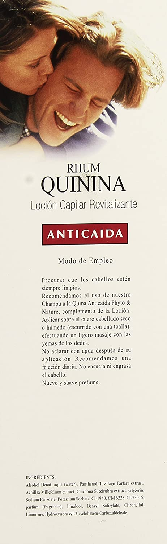 Phyto Rhum Quinina Locion Capilar Revitalizante 1l