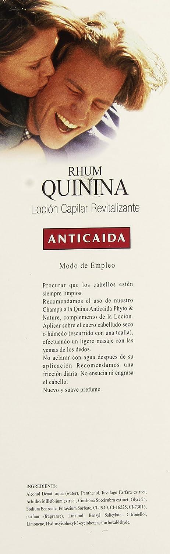 Amazon.com: PHYTO NATURE RHUM QUININA loción anti-caída 1000 ml: Clothing