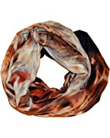SCARF_TRADINGINC Oil Painting Printed Infinity Loop Scarf Pareo Sarong