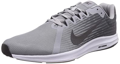 NIKE Mens Downshifter 8 Running Shoe, Wolf Metallic Dark Cool Grey, 8.5 Regular US
