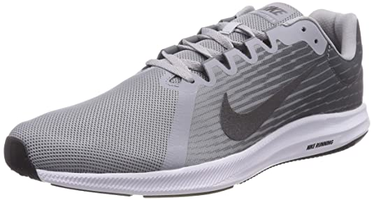 Amazon.com | Nike Mens Downshifter 8 Running Shoe Wolf Metallic Dark Cool Grey, 7 Regular US | Road Running