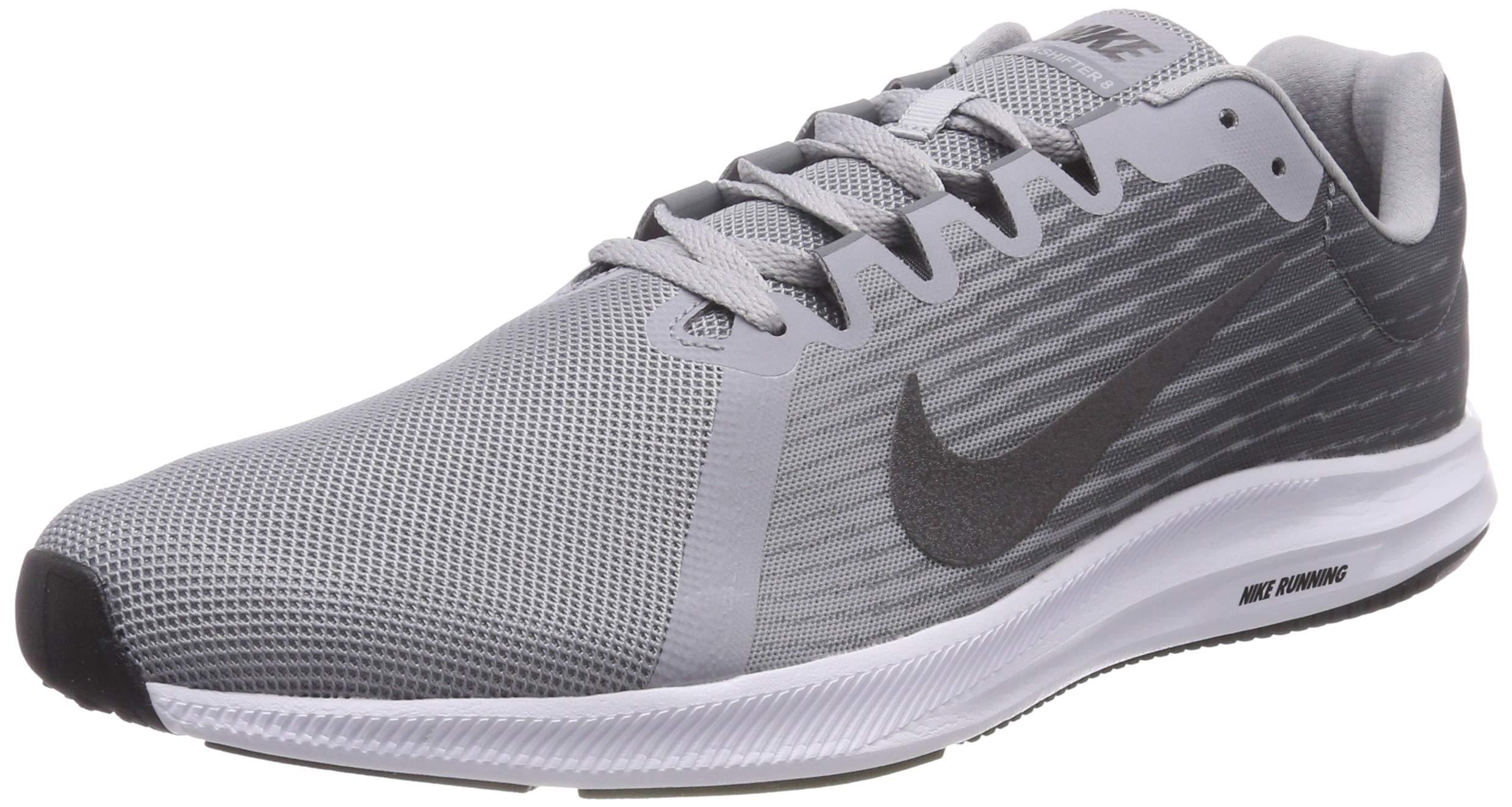 size 40 81c59 09bfa Galleon - Nike Men s Downshifter 8 Running Shoe, Wolf Metallic Dark Cool  Grey, 9 Regular US