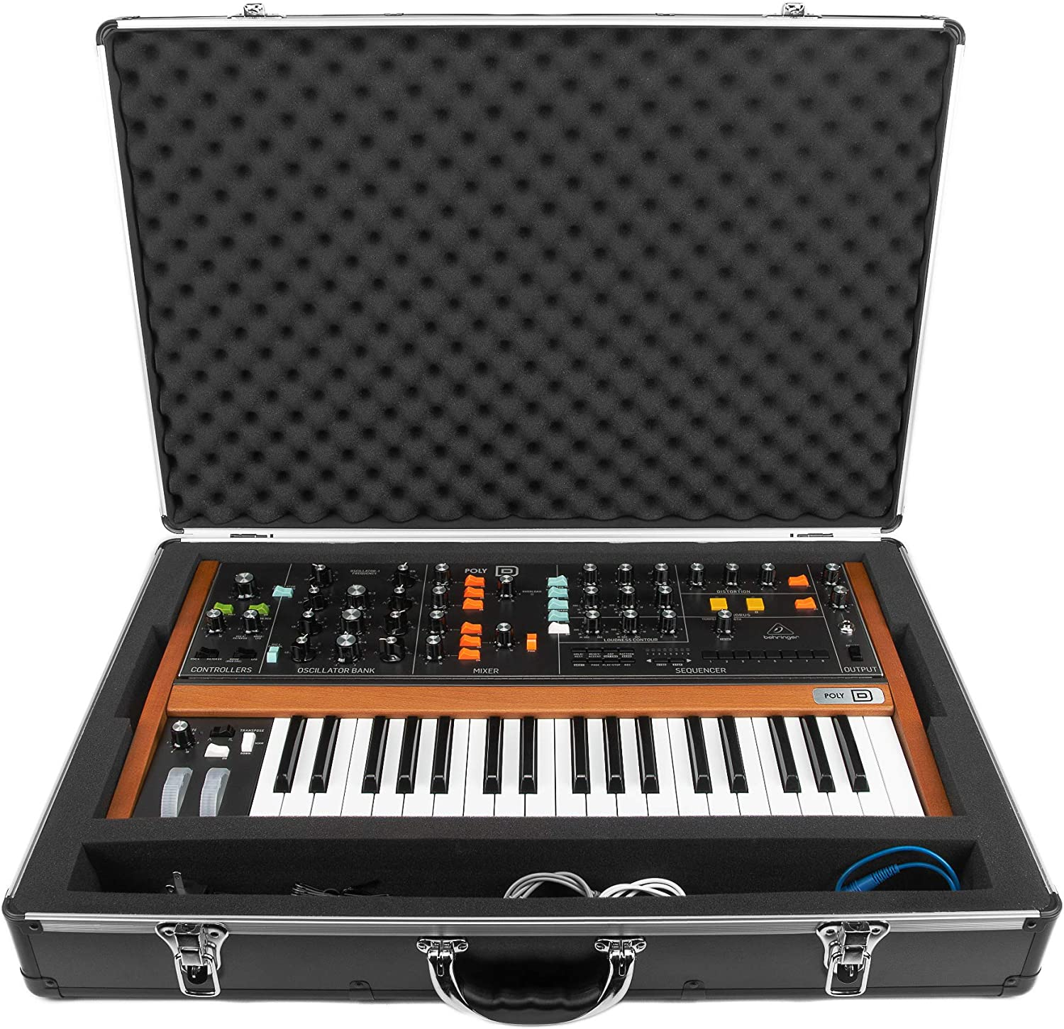 Amazon Com Analog Cases Unison Case For The Behringer Poly D Musical Instruments The 1970s spawned the first truly portable analog synthesizer, and while it was quickly with all the features of the original and then some, the behringer poly d lets you conjure up virtually any. amazon com analog cases unison case