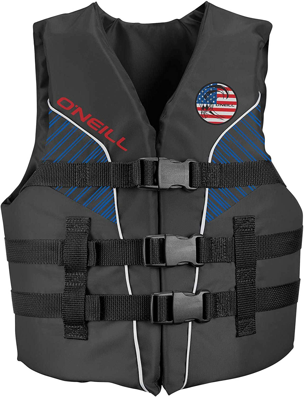O'Neill Superlite Youth USCG Life Vest Patriot (4725IA)