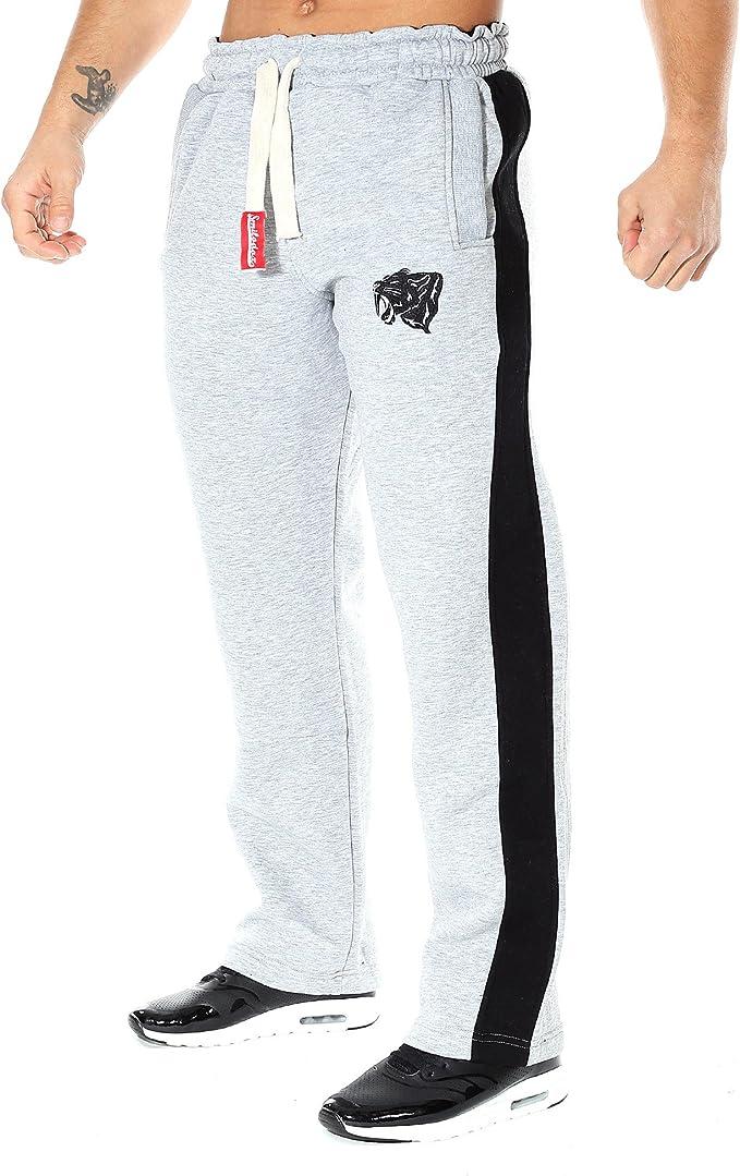 Pantalones de chándal SMILODOX corte ajustado para hombre, para ...