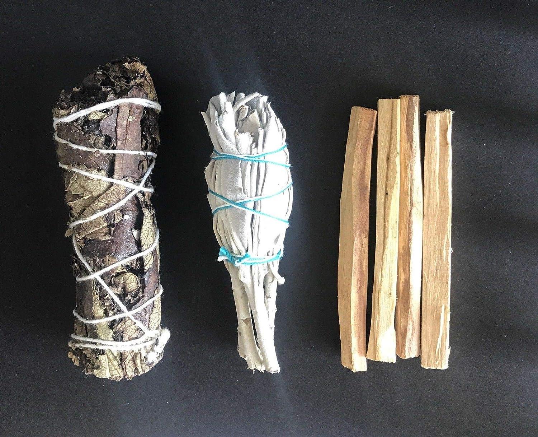 超人気の カリフォルニア ホワイト セージ パロサント 4本 4本 Yerba サンタスマッジ パロサント 3パック バンドル 3パック B07GFPZ59P, メガネのマスダ:a3a22e09 --- egreensolutions.ca