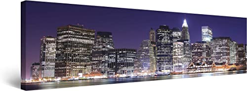 Startonight Canvas Wall Art Manhattan Classic New York Panorama
