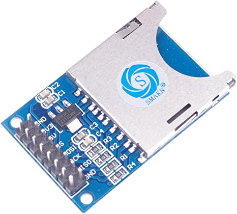 SMAKN SD Card Reader Module Chip SD SPI Interface, SD Card Socket SD Card Reader Module