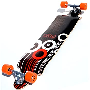 Atom Drop Deck Longboard Skateboard