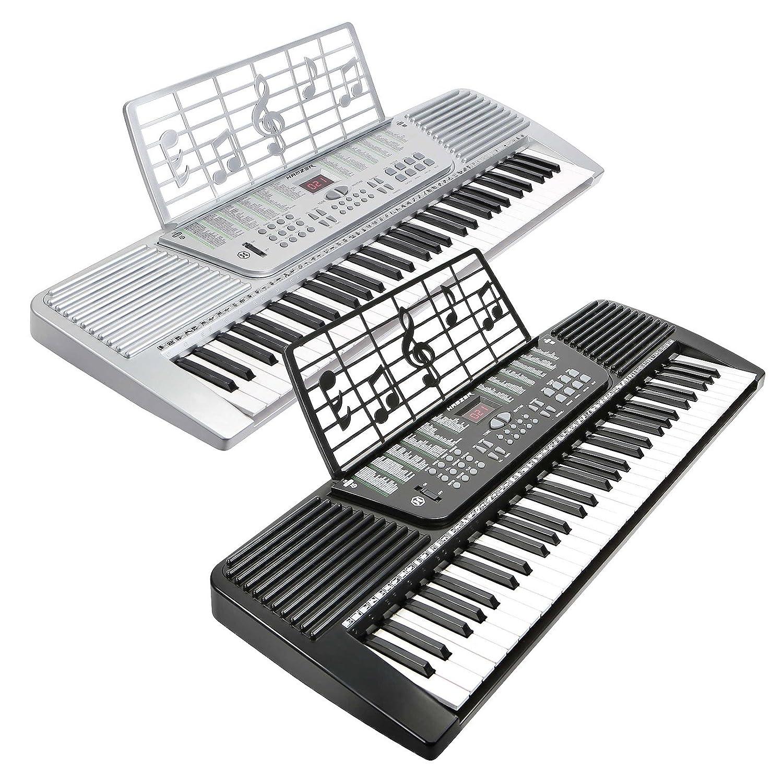 amazon com hamzer 61 key electronic music electric keyboard piano