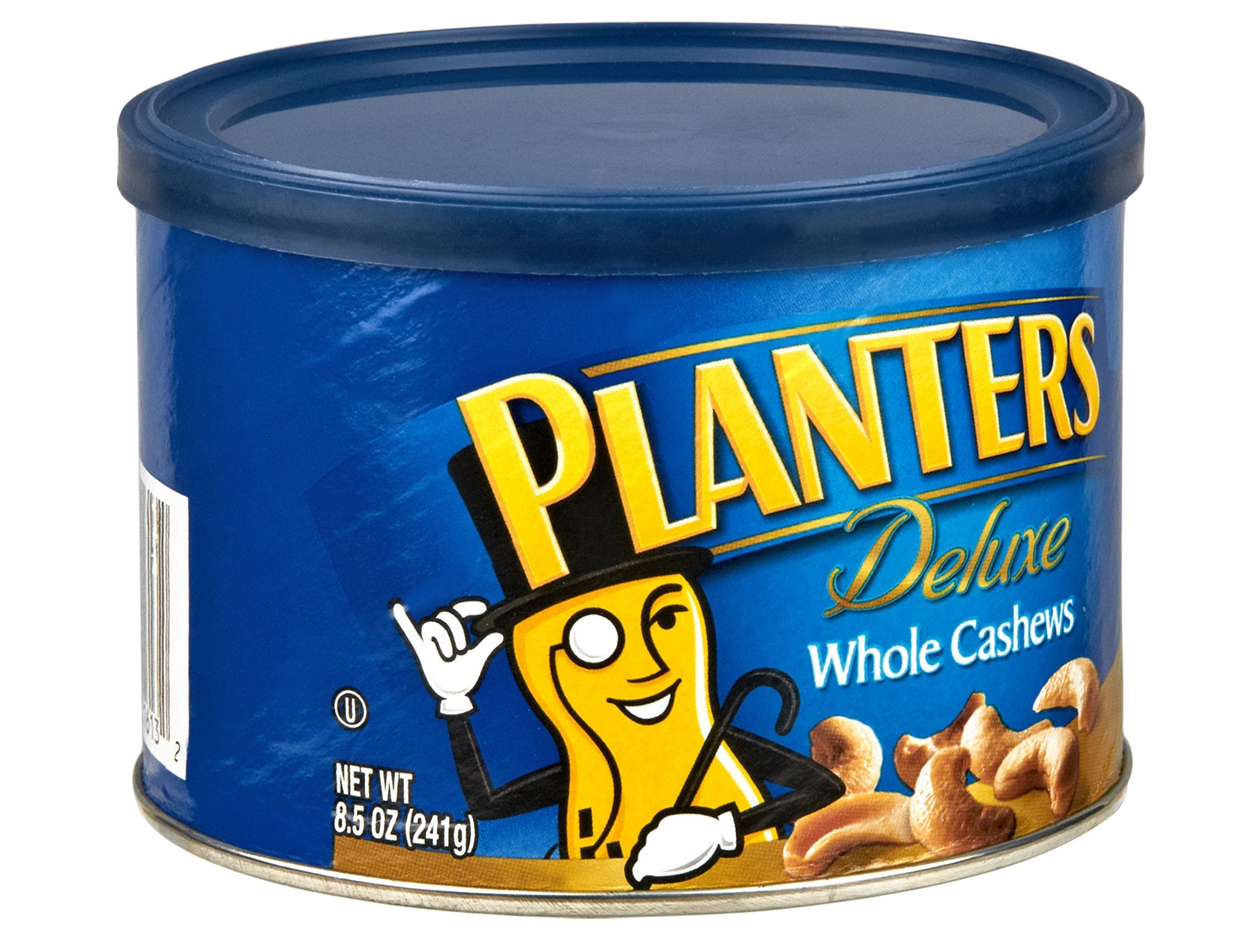 Planters Deluxe Whole Cashew, 8.5 Ounce -- 12 per case.