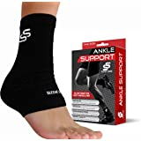 Ankle Brace for Foot Support and Plantar Fasciitis - Accelerated Recovery, Reduce Swelling, Stabilizing Ligaments, Soothe Achy Feet and Heel Spur, Breathable.