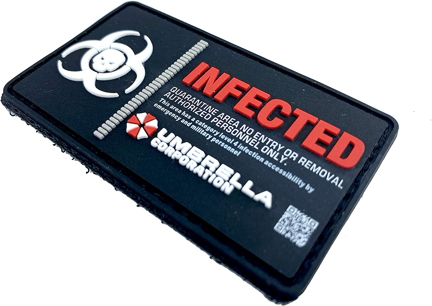 Umbrella Corporation Infected Virus Airsoft Paintball PVC Moral Cosplay Patch