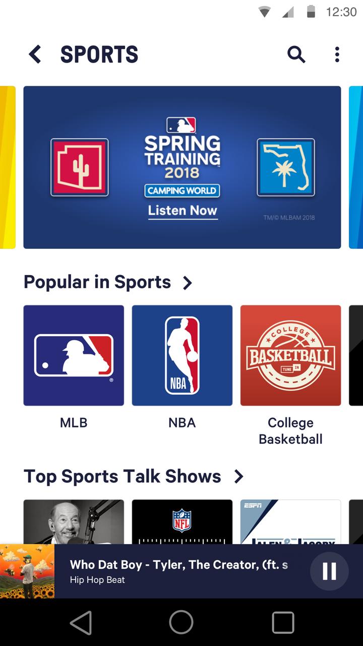 Amazon.com: TuneIn Radio: Appstore for Android