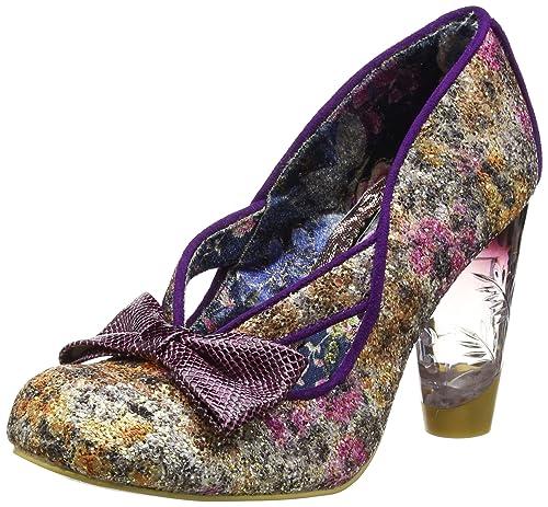 Irregular Choice Women s Hello Ha Closed Toe Heels B0723BXFFK