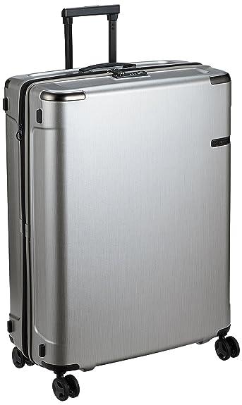 d1a14e10c7 Amazon | [サムソナイト] スーツケース エヴォア スピナー81 ブラッシュドシルバー 保証付 128L 81 cm 5.9 kg 92056  | スーツケース