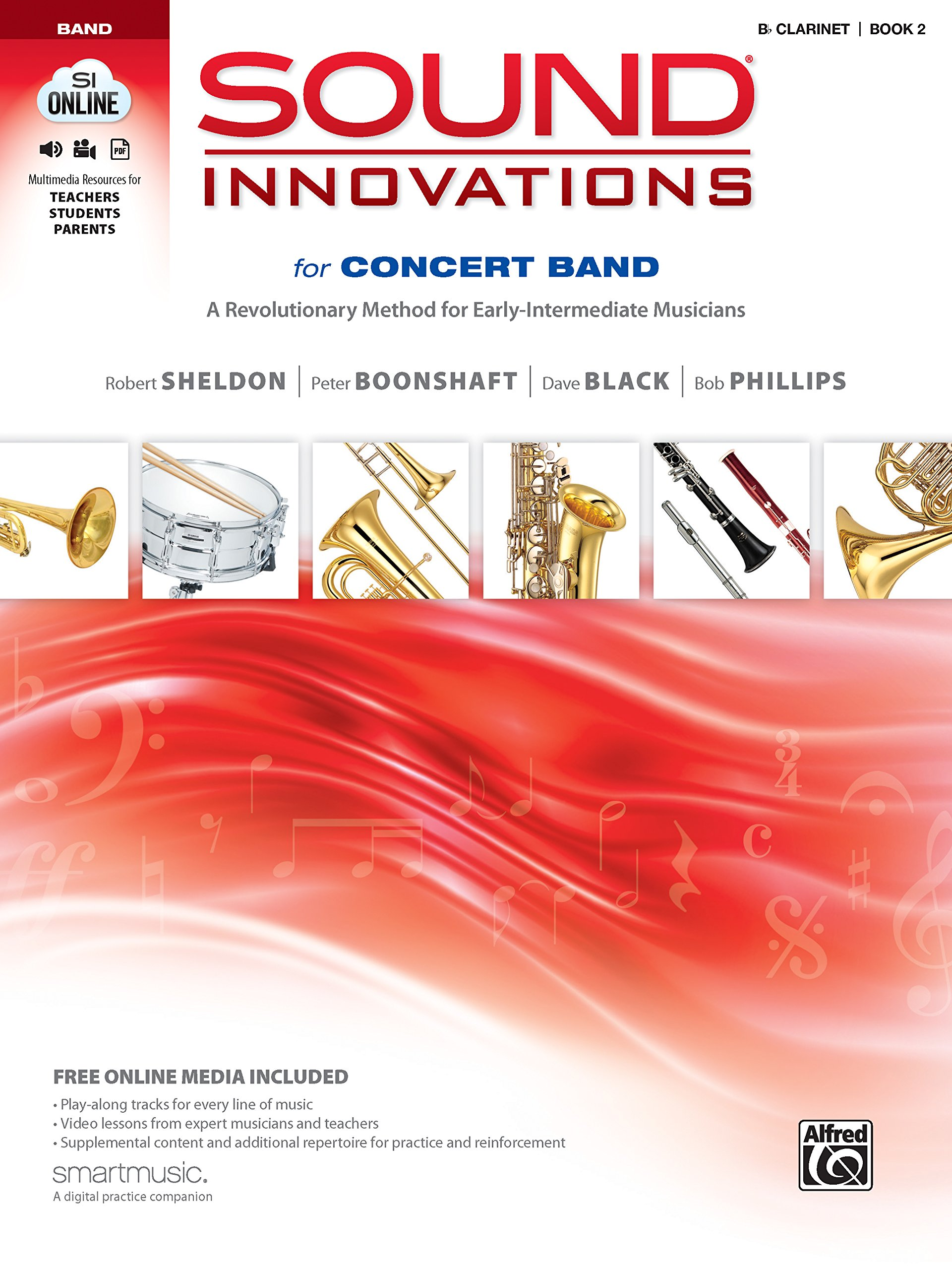 Amazon.com: Sound Innovations for Concert Band, Bk 2: A Revolutionary Method  for Early-Intermediate Musicians (B-flat Clarinet), Book & Online Media ...