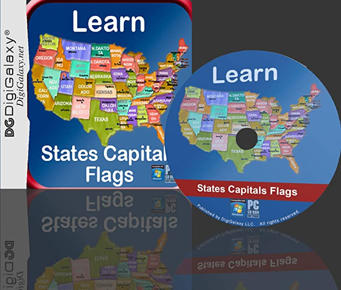 Amazon.com: United States Map Quiz Game - Study, Practice, Quiz ...