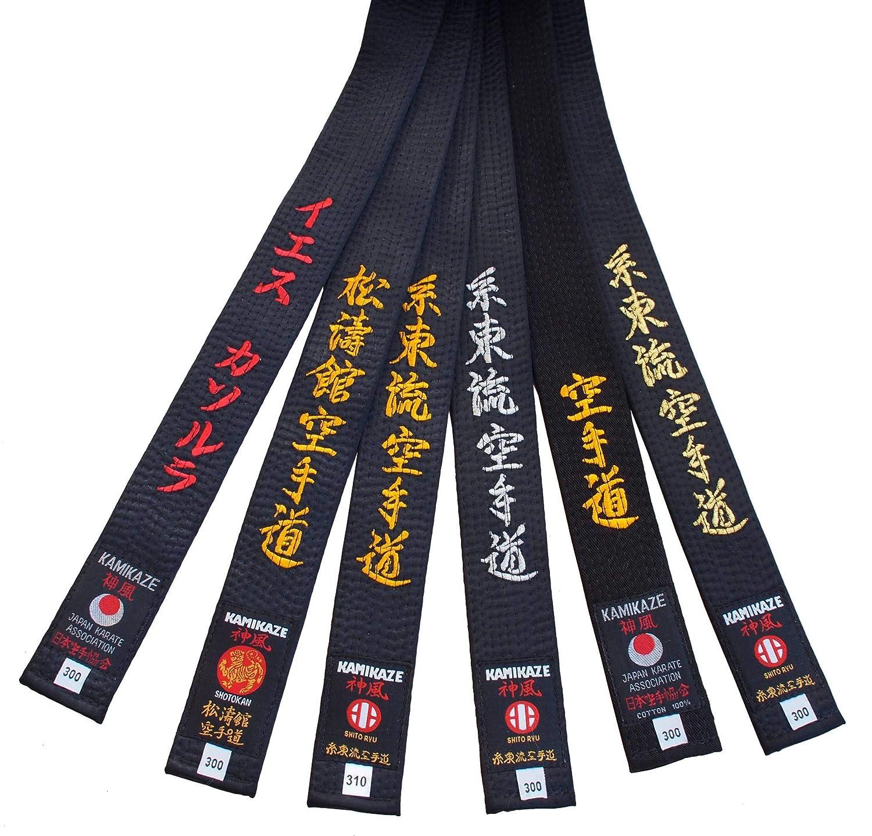 4//270 cm Kamikaze Cintura Nera cottone qualit/à Superiore