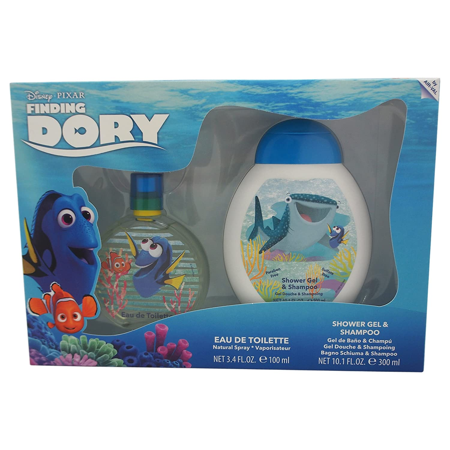 Disney Finding Dory Spray Set for Kids, 2 Count 7256