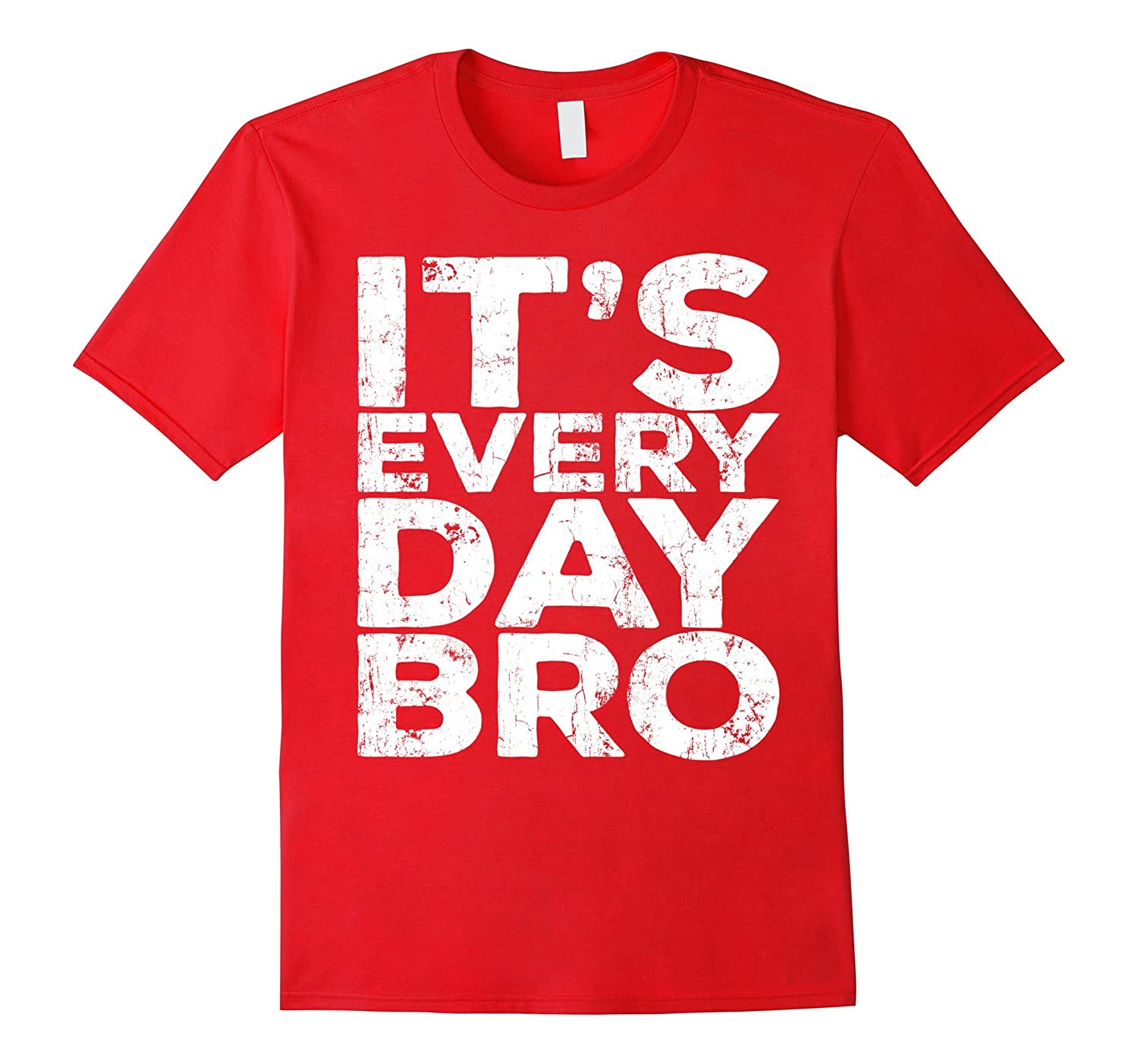 It's Everyday Bro T-Shirt Funny Party Gift Shirt-ah my shirt one gift