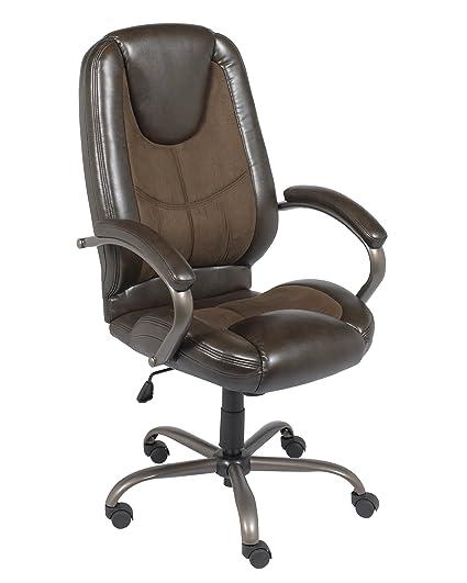 Elegant Z Line Designs Manager Chair, Espresso