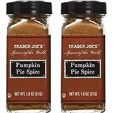 Trader Joe's Pumpkin Pie Spice, 1.8 Ounces - 2 Pack