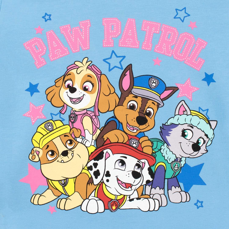 Paw Patrol Pigiama per Ragazze Chase Marshall Skye Everest Vestibilitta Stretta
