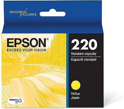 Amazon.com: Cartucho de tinta Epson t220120,DuraBrite ...