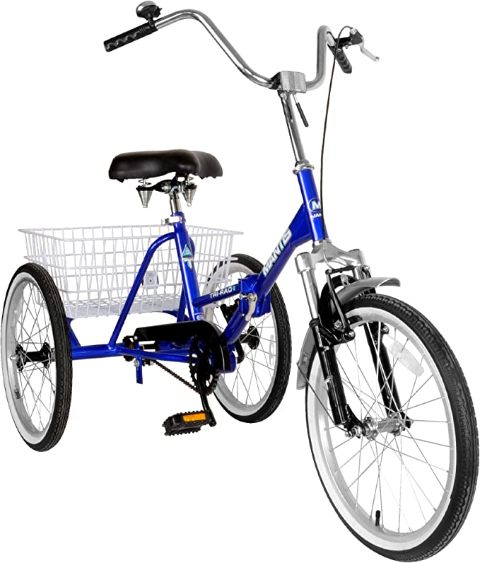 Best Adult Tricycle: Tri-Rad Adult Unisex Folding Tricycle