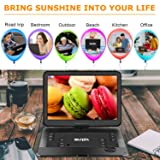 "SUNPIN Portable DVD Player 17.9"" with Large HD"