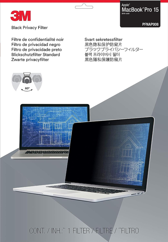 3M PFNAP008 Blickfiltro Protector para Apple MacBook Pro 15 2016